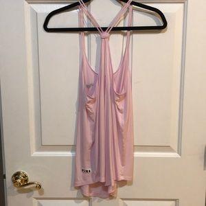 PINK Victoria's Secret Tops - PINK Super Soft Pink Tank Small EUC Trendy!